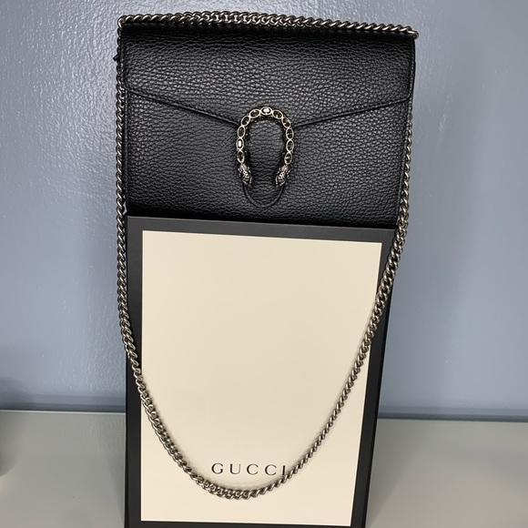 Gucci Handbags - Gucci Dionysus Chain mini bag / Gucci WOC